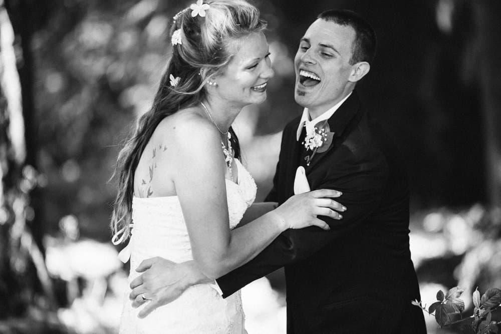 Sunflower Inspired Backyard Wedding