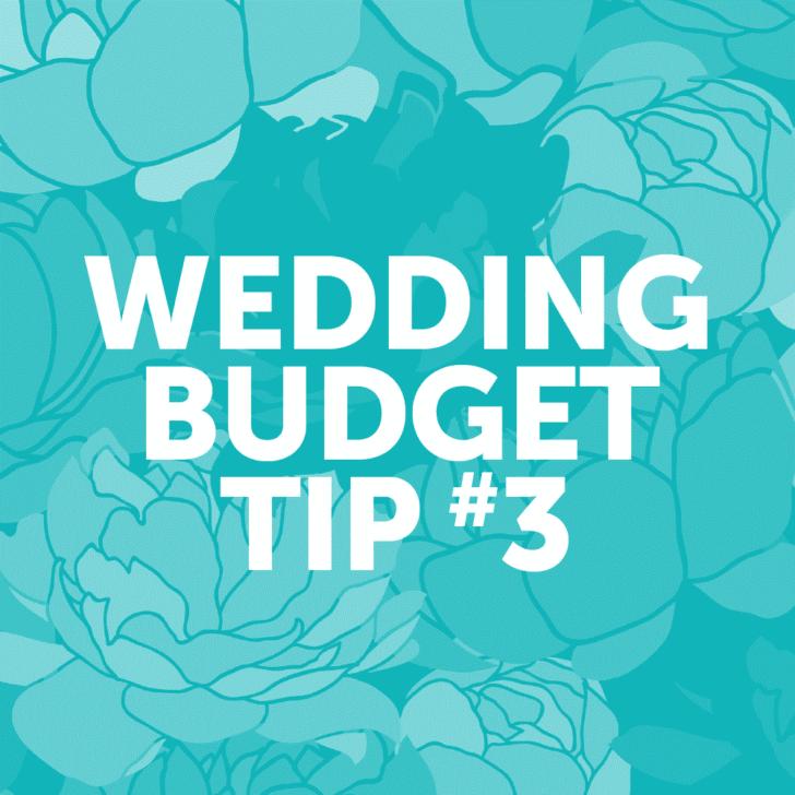 Wedding Budget Tip #3: Choose a wedding date during off-peak seasons.