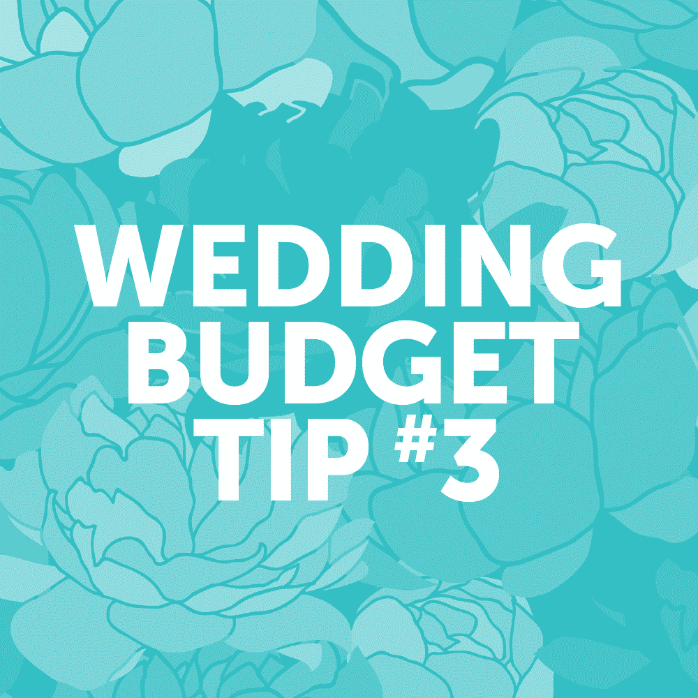 Wedding Budget Tip #3: Choose a wedding date during off-peak seasons.