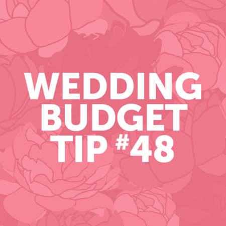 Wedding Budget Tip #48: opt for a dessert buffet instead of a traditional wedding cake