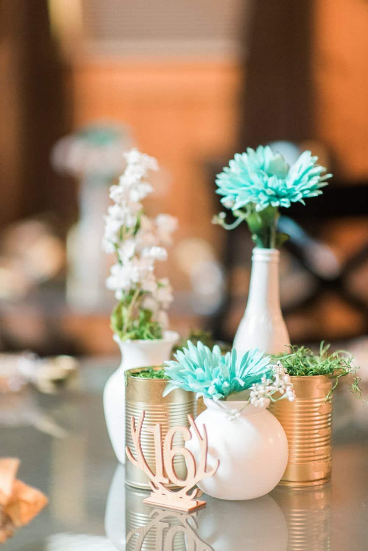 Turquoise DIY Wedding