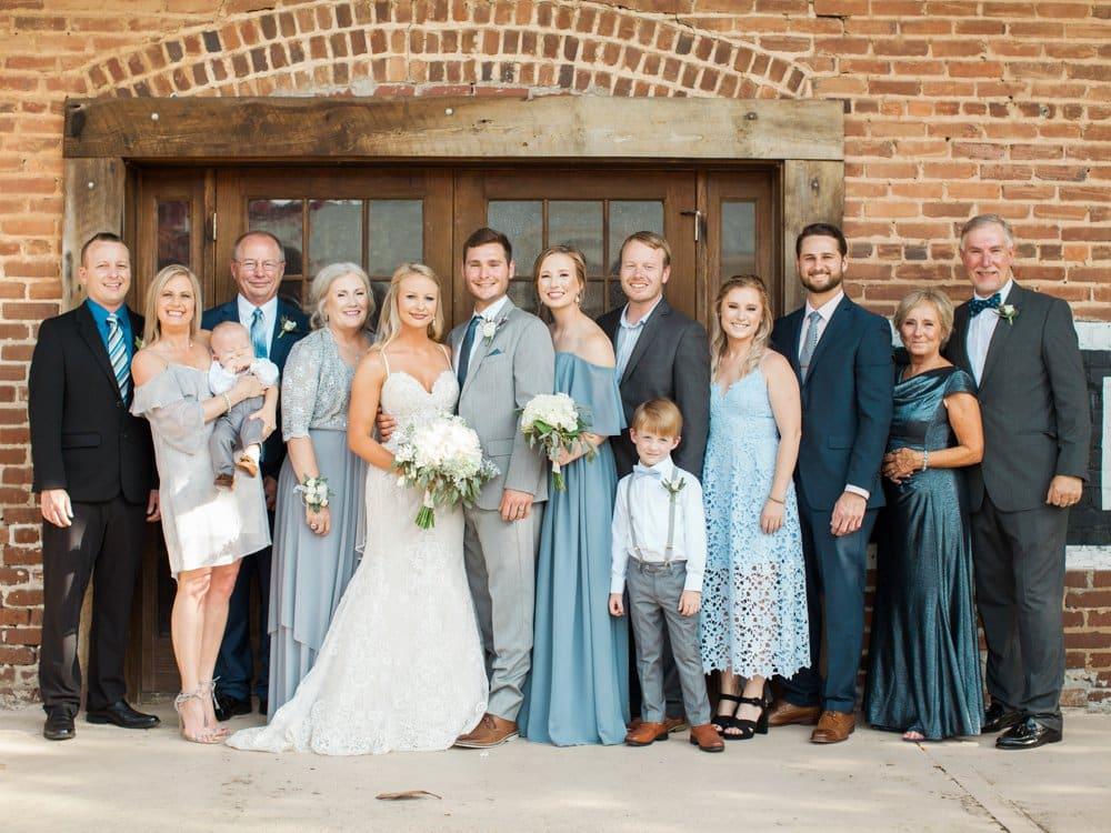 Dusty Blue GA Wedding