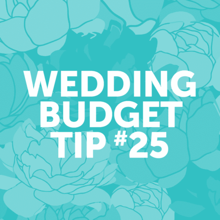 Wedding Budget Tip #25: Sign up for a rewards card to earn points towards your honeymoon!