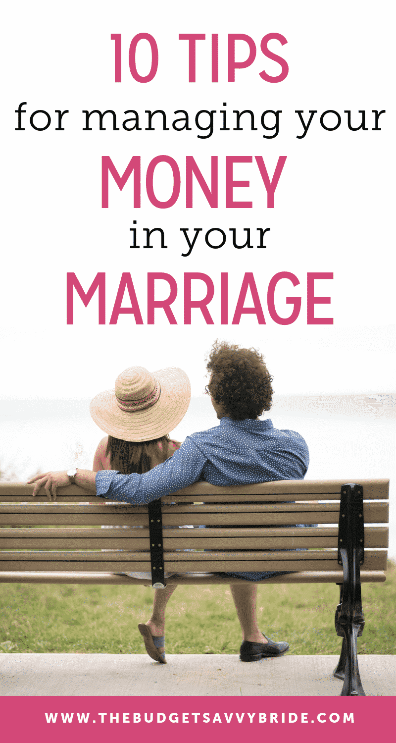 tips for managing money in your marriage