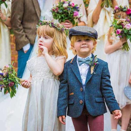 ring bearer and flower girl outfits