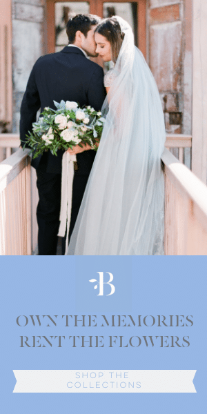 Something Borrowed Blooms - Wedding Flowers for Rent | Own The Memories, Rent the Flowers - Use code BUDGETSAVVY at checkout to receive a free garland with your rental order!