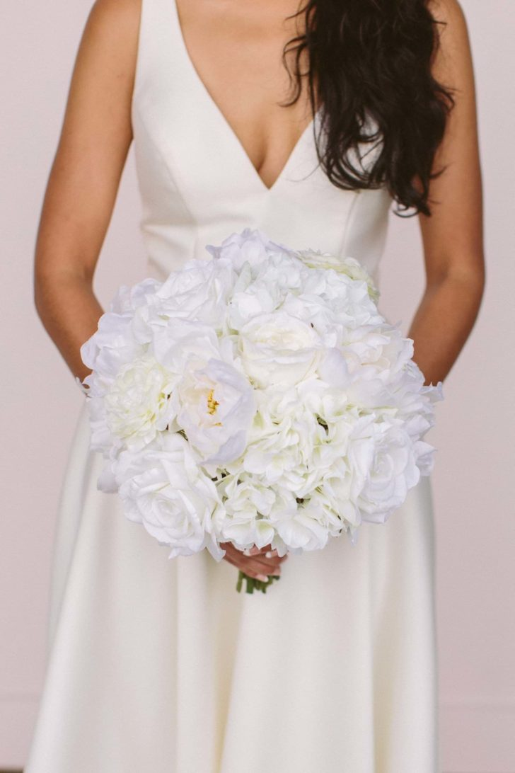 audrey bridal bouquet something borrowed blooms