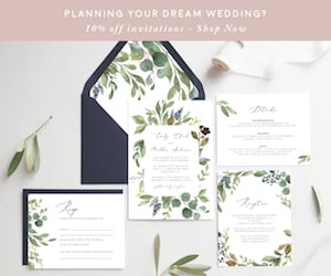 Timberwink Studio Printable Wedding Invitations