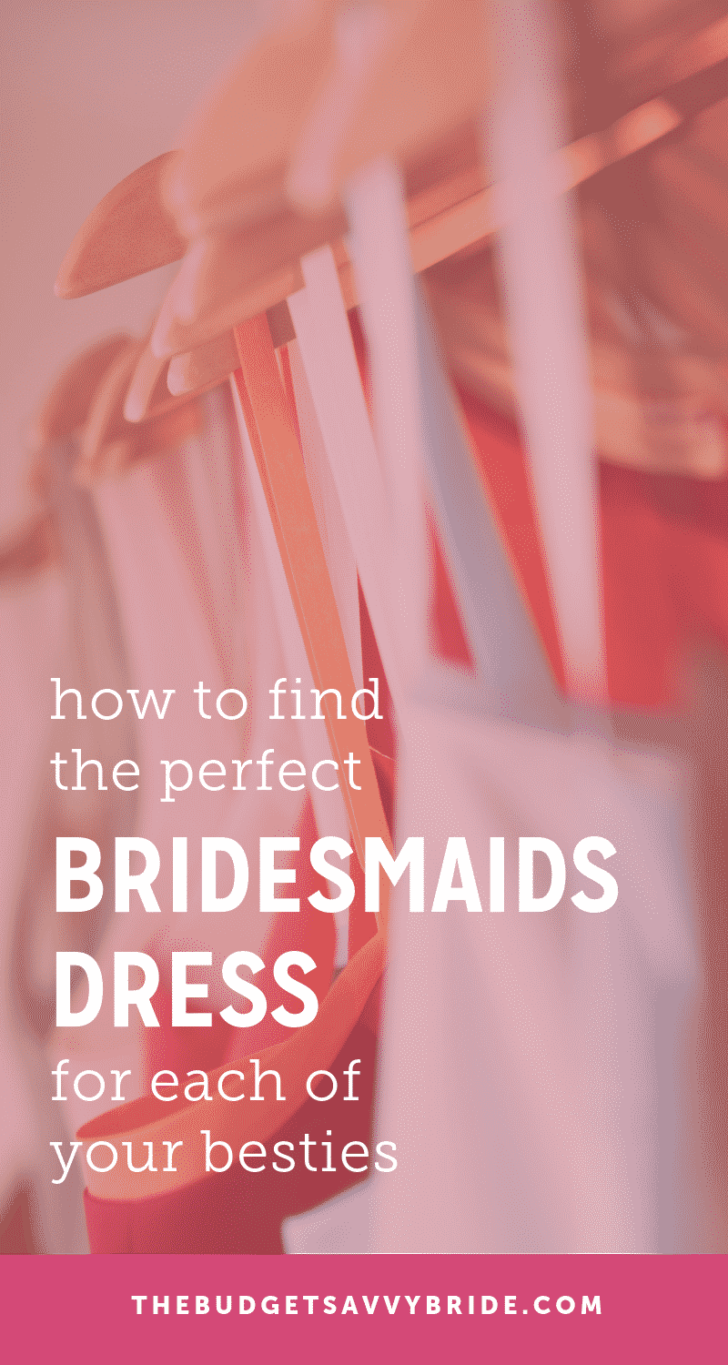 find the perfect bridesmaids dresses