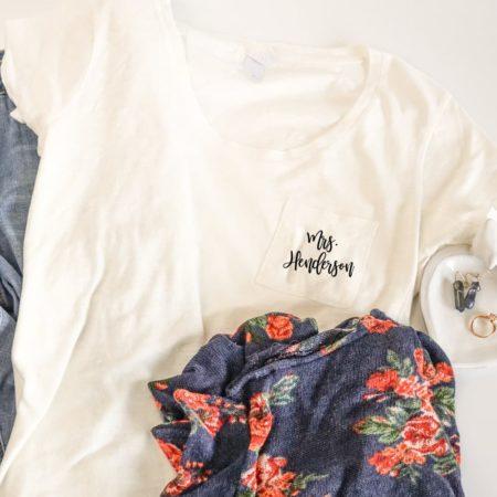 Mrs Shirt Personalized T-shirt