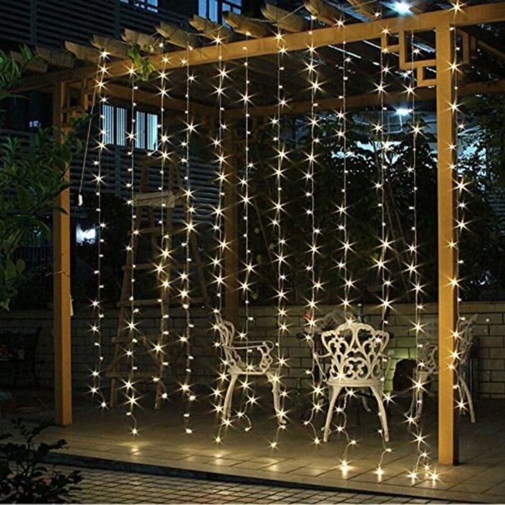 amazon wedding decor - twinkle light curtains