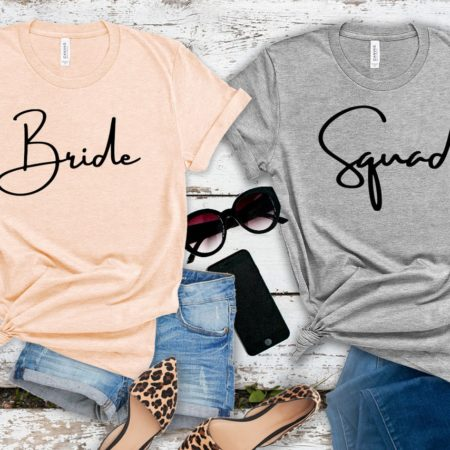 Bride Squad Tee Shirts