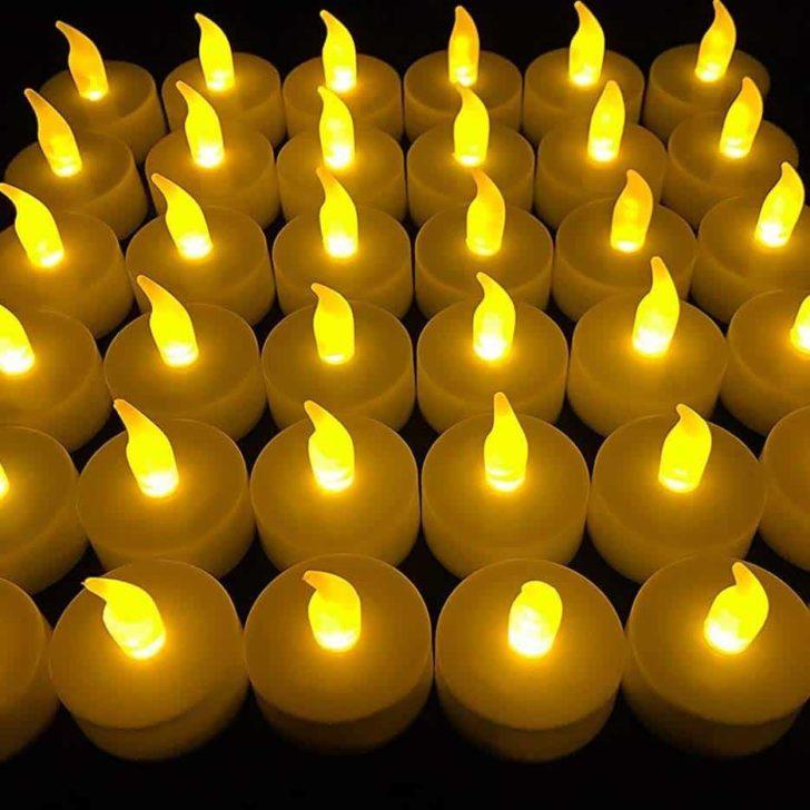amazon wedding decor - LED tealight candles