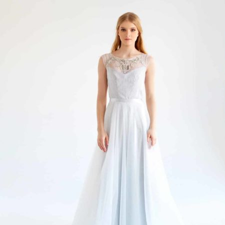 mywony-gardenia-tulle wedding dress