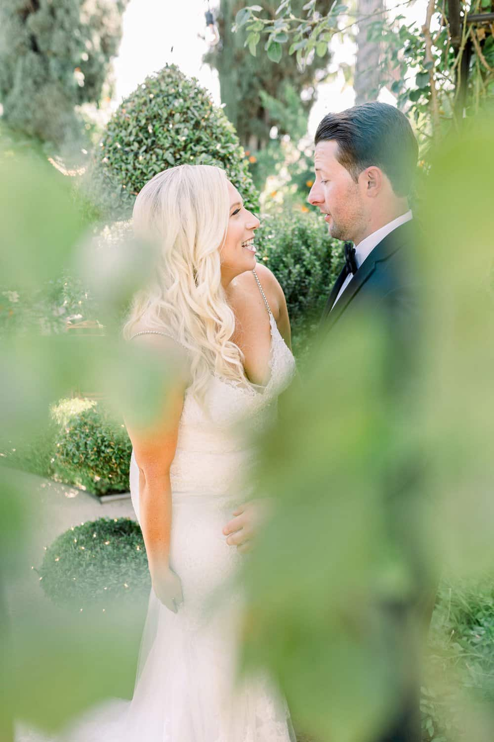 Green and Grey Garden Wedding