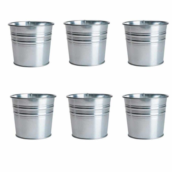 amazon wedding decor - galvanized buckets - ikea