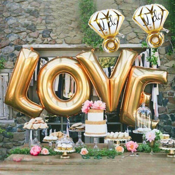 amazon wedding decor - love balloons