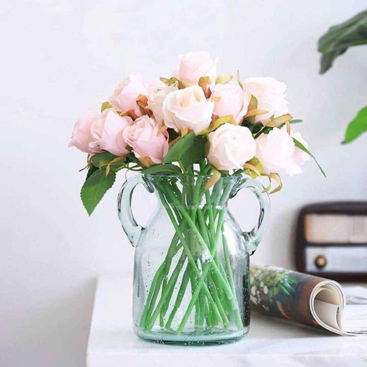 amazon wedding decor - silk roses