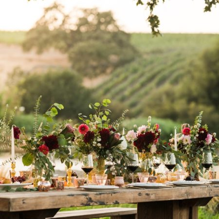 Rustic Romance Wedding Decor