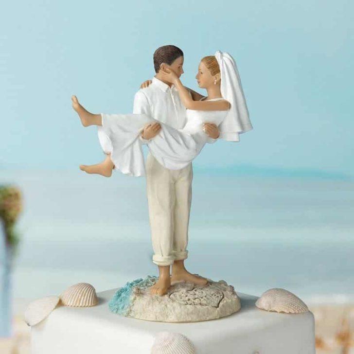 amazon wedding decor - destination wedding cake topper