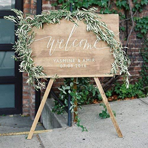 amazon wedding decor - welcome sign2
