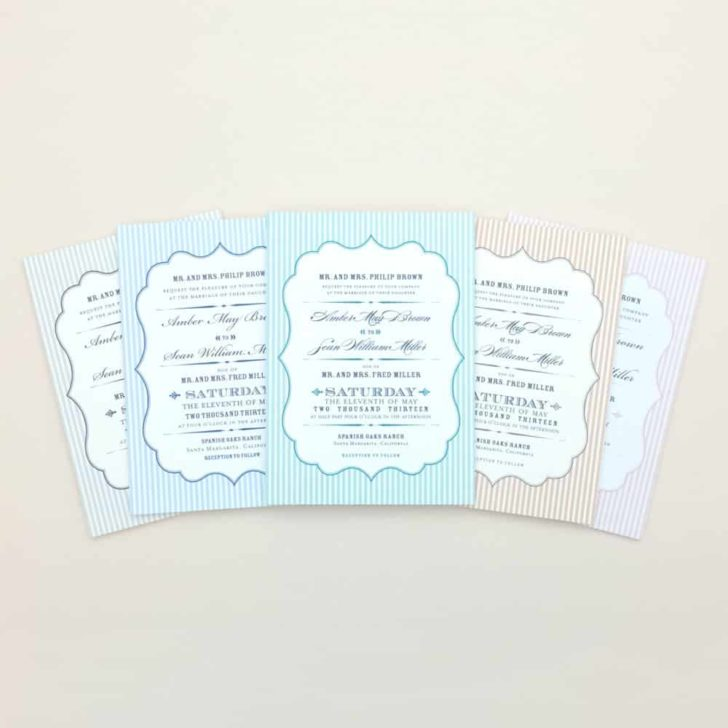 download and print printable wedding invitations and stationery for the bride on a budget