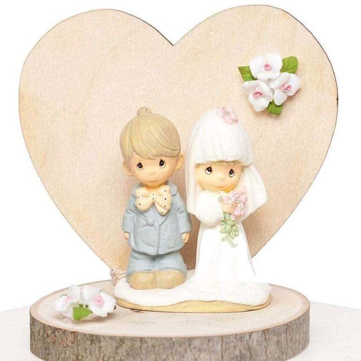 amazon wedding decor - precious moments cake topper