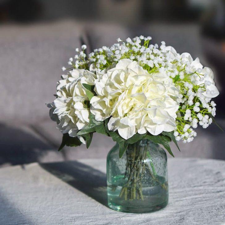 amazon wedding decor - faux hydrangea