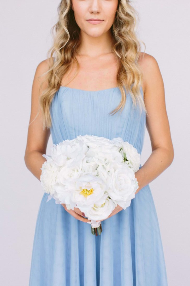 audrey bridesmaids bouquet (round) from something borrowed blooms