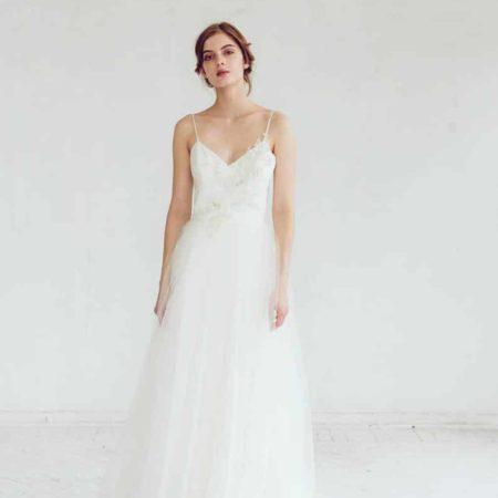 Nicole - Lace bridal gown