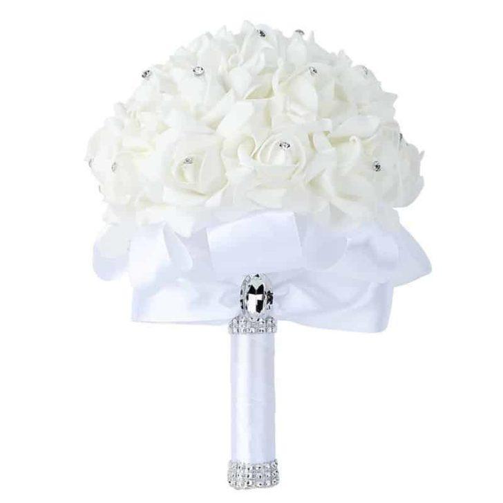 amazon wedding decor - artificial wedding bouquet