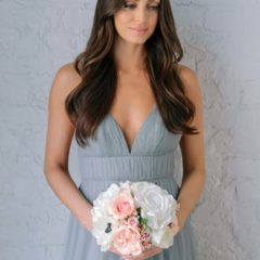 charlotte bridesmaids bouquet something borrowed blooms