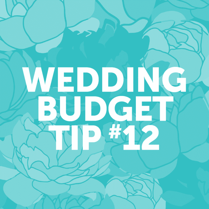Wedding Budget Tip #12: Recruit talented friends and family for help!