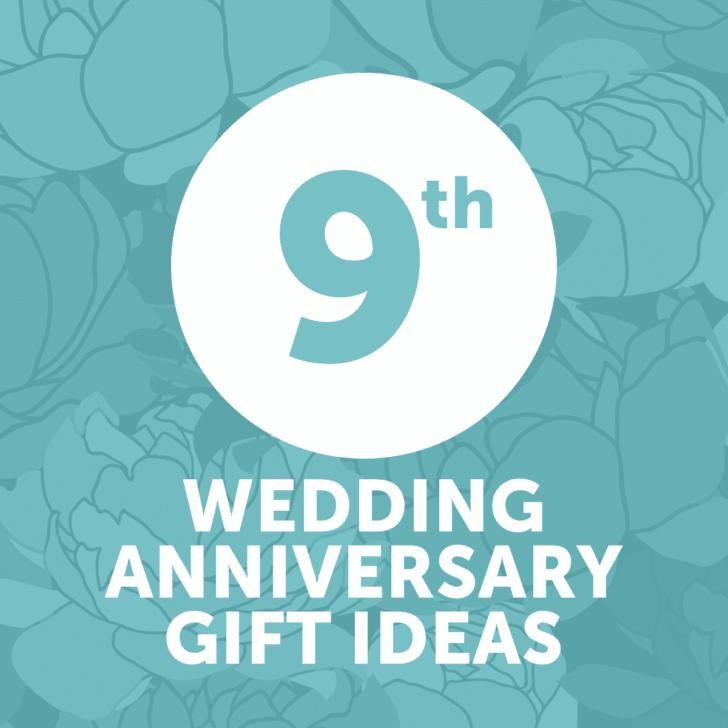 ninth wedding anniversary gift ideas - year 9