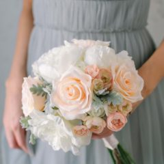 sophia bridesmaids bouquet from something borrowed blooms