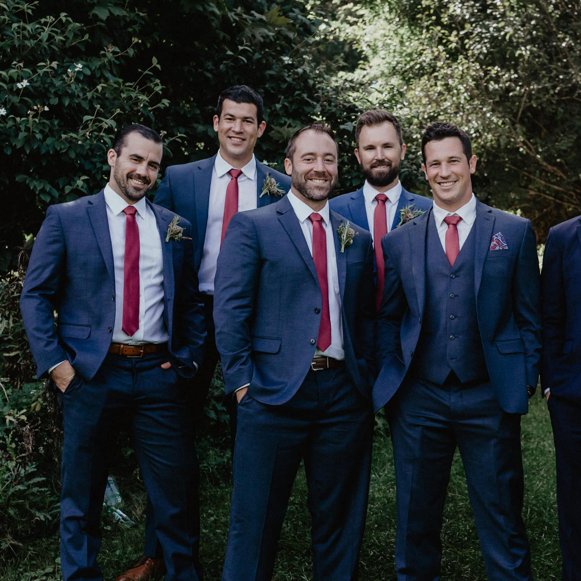 pockets of paris - exclusive discount on custom wedding suits for your groom and groomsmen
