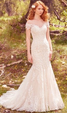 Buy a used wedding dress from Tradesy
