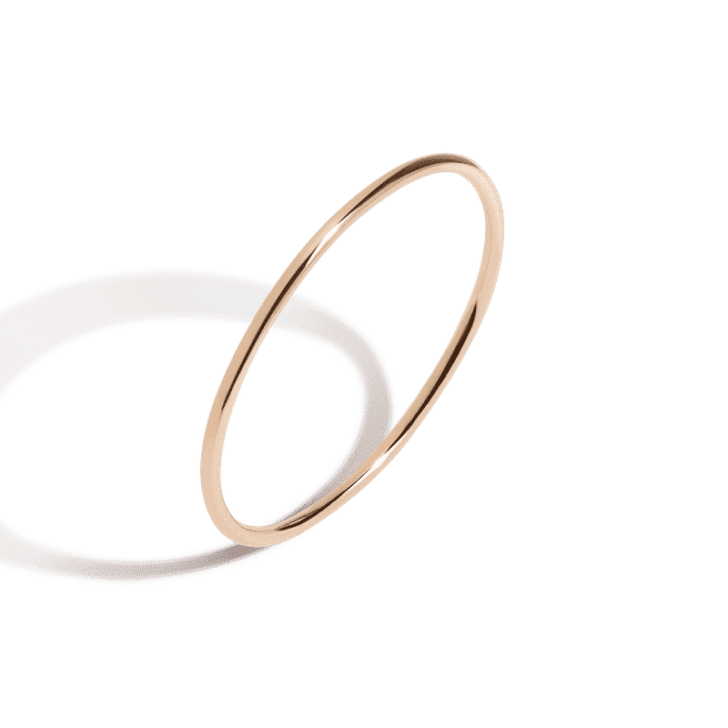 AUrate gold band | Delicate Jewelry | dainty jewelry, delicate rings, dainty rings, simple rings, minimalist wedding band