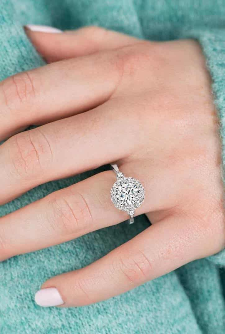 conflict-free diamond engagement ring from brilliantearth