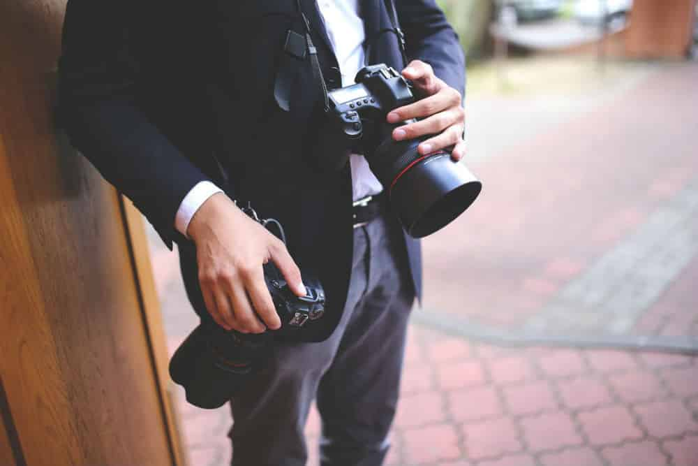 Shooting a friend's wedding