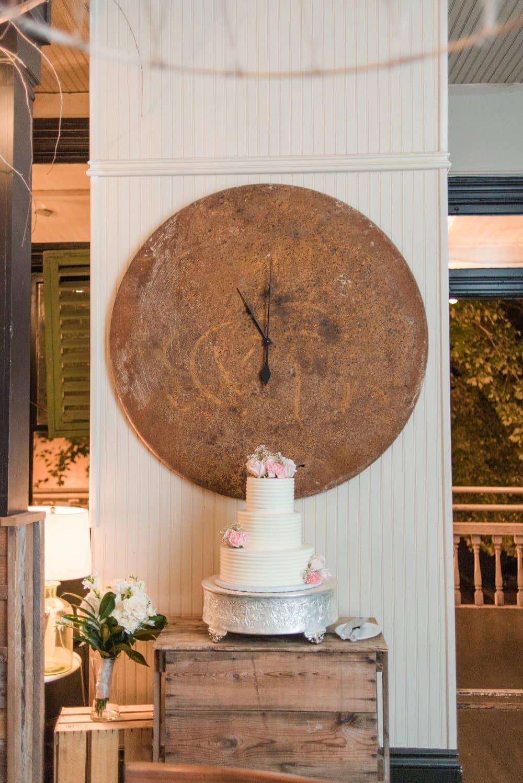French Inspired Backyard Wedding
