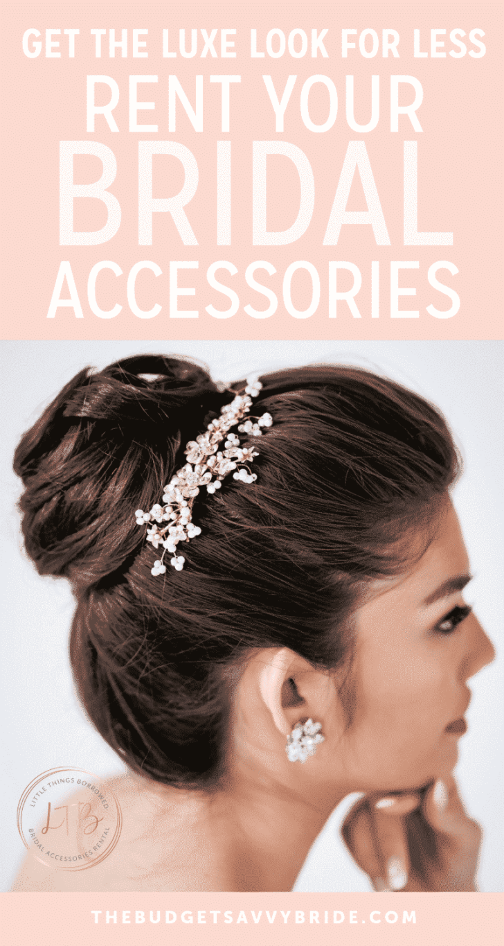 rent your bridal accessories