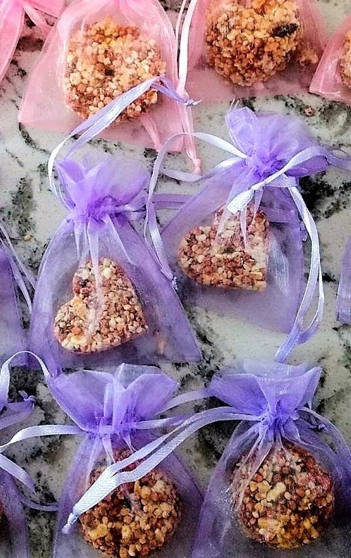 birdseed wedding favors from Etsy