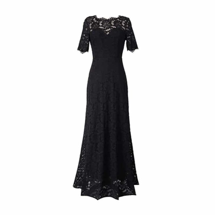 Retro Floral Lace Formal Dress by VFSHOW