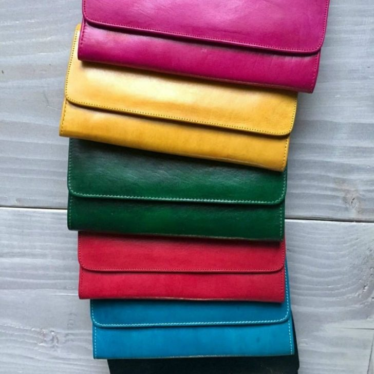 LEATHER WALLET FOR HER By Kech Leather