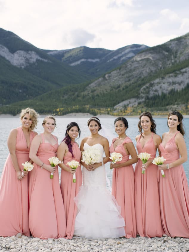 henkaa convertible bridesmaids dresses - cheap bridesmaid dresses