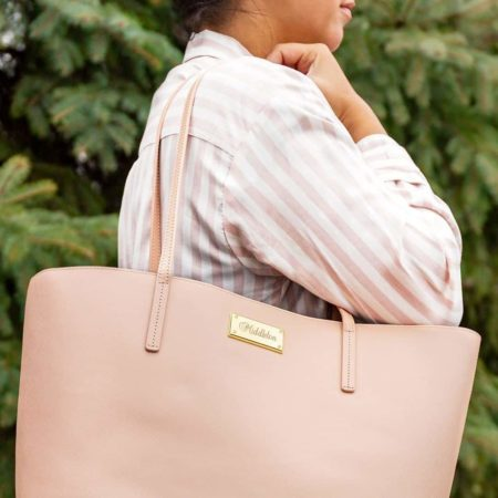 Luxe Monogrammed Tote