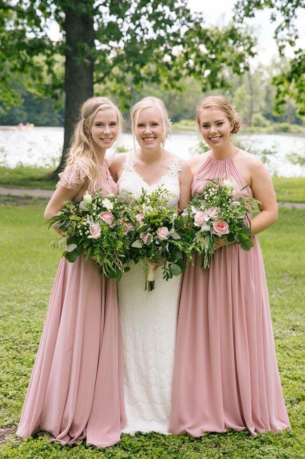 Get affordable bridesmaids dresses at Azazie!