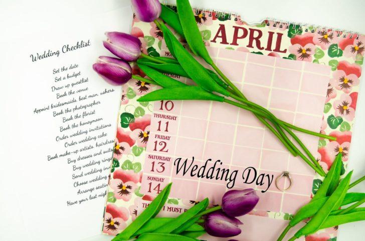 wedding calendar timeline