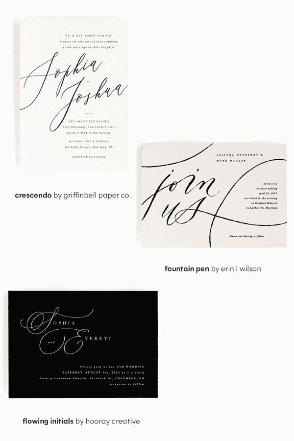 Minted Wedding Invitations - Wedding Design Trends - New Classics